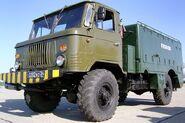 A GAZ-66 truck at Tambov Airshow 2007