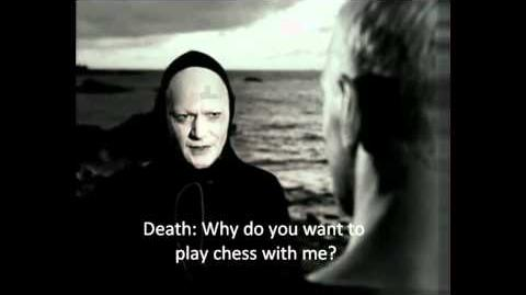 The Seventh Seal - The knight meets Death English sub