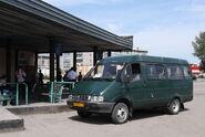 Van in Asino, Russia