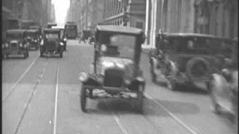 Driving Around New York City - 1928