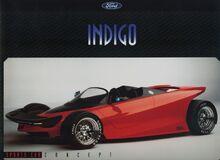 1996 Ford Indigo Concept Sports Car
