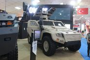 Otokar Cobra II Missile Variant