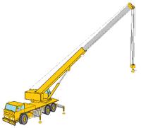 Scando C-500-30 crane