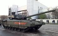T-14 Armata Smoke Grenade Dischargers