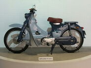 Honda super cub, 1st Gen. 1958, Left side