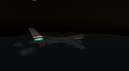 Il-92 rear night