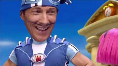 YTP- Lazy Town is directed by Michael R̶o̶s̶e̶n̶ Bay