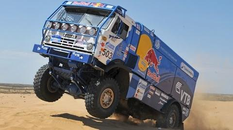 Russian truck KAMAZ - Unbeatable Monster! Quality on all century!