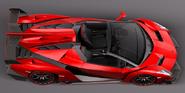 Lamborghini Veneno (top right)