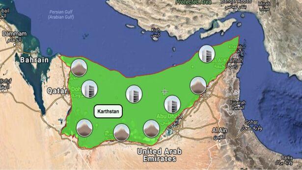 Karthstan map