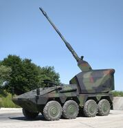 Boxer GTK Self-Propelled Gun