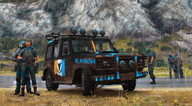 Just Cause 3 Rebelles - Camions