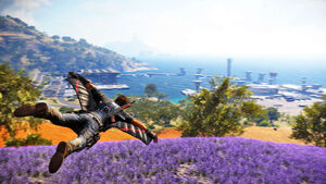 Just Cause 3 Wingsuit