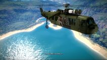 Just cause 2 - Marché noir - extraction