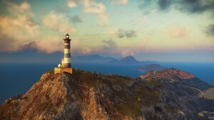 Just Cause 3 - Insula Dracon - Phare