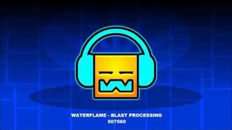 Waterflame - Blast Processing Geometry Dash Music