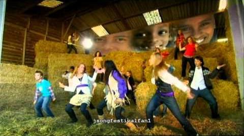 Junior Songfestival 2007 - Laat ons zijn wie we zijn (Clip)