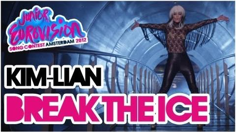Kim-Lian - Break the Ice - Video Theme Song Junior Eurovision Song Contest 2012