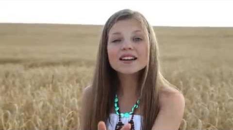 "Junior Eurovision 2014 Nadezhda Misyakova ""Sokol"" Надежда Мисякова ""Сокол"""
