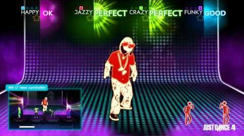 Just Dance 4 Wii U exclusive feature Puppet Master mode-0