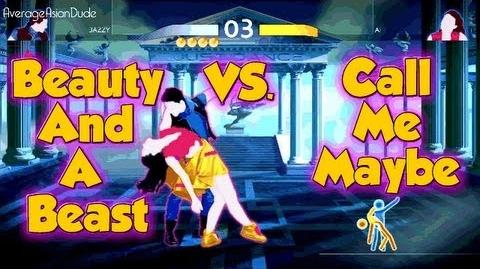 Just Dance 4 - Beauty And A Beat VS. Call Me Maybe (Режим V.S