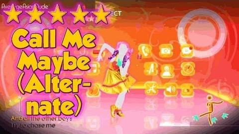 Just Dance 4 - Call Me Maybe (Альтернативная версия)