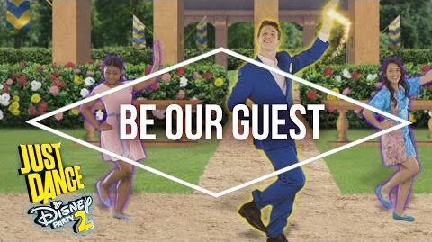 Just Dance Disney Party 2 – Descendants – Be Our Guest - Official US