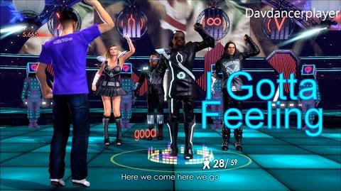 The Black Eyed Peas Experience I Gotta Feeling Score 56,661 (71)