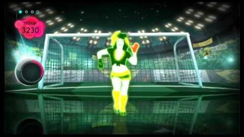 Just dance 2 best of futebol crazy 5 stars