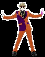Uptown Funk Dancer 3