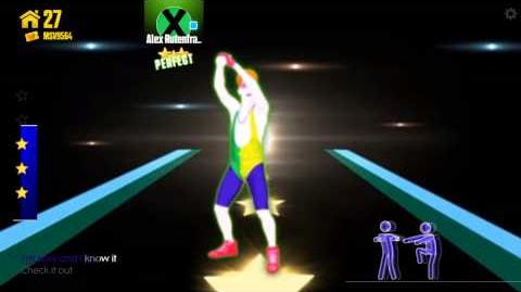 Just dance now Sexy and i know it 5 stars