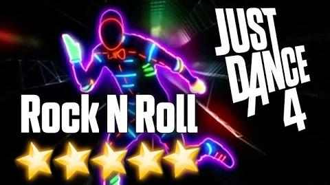 Just Dance 4 - Rock N' Roll (Will Take You To The Mountain) - All perfects