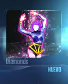 Diamonds Menu 2