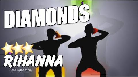 DIAMONDS RHIHANNA Just Dance 2015 Couple Battle Dance