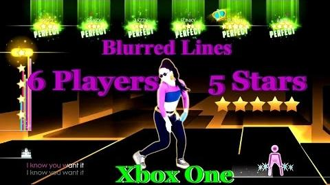 Just Dance 2014 - Blurred Lines (Extreme) 6 Players Xbox One