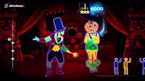 Just Dance 4 Professor Pumplestickle, Nick Phoenix (Duo)-(DLC) 5*