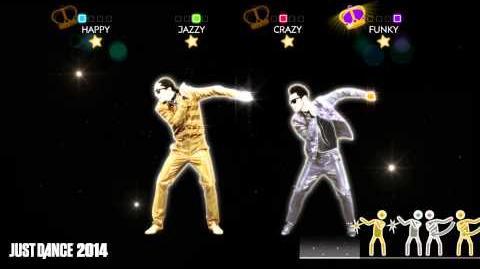 Daft Punk - Get Lucky Just Dance 2014 Gameplay