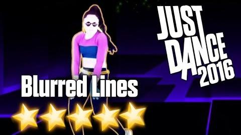 Just Dance 2016 - Blurred Lines (Extreme) - 5 stars