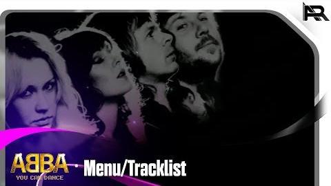 ABBA You Can Dance - Menu Tracklist