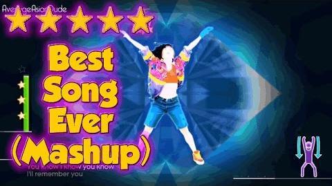 Just Dance 2015 - Best Song Ever (Dance Mash-Up) - Alternative Mode Choreography - 5* Stars