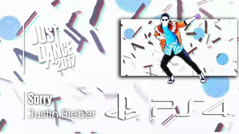 Sorry - Justin Bieber Just Dance 2017 Demo Menu (PS4)