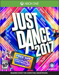 Just dance 2017 xbox one boxart