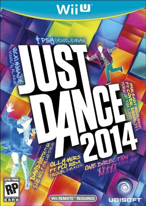 Just Dance 2014 NTSC Box Art