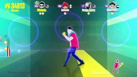 Just Dance Now Hold My Hand 5 stars