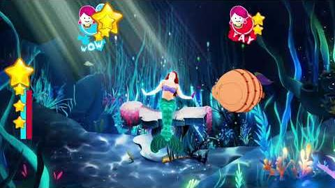 Just Dance 2018 Kids Mode Under The Sea 2 players 5 stars rainbow stars nintendo switch
