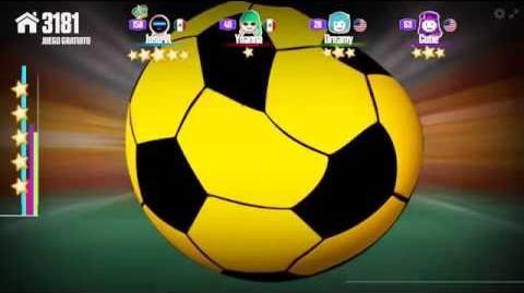 Futebol crazy just dance now 5 stars