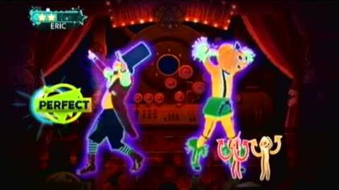 Just Dance 3 DLC Professor Pumplestickle by Nick Phoenix and Thomas Bergersen