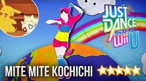 Just Dance WiiU Mite Mite Kocchichi - 5 stars