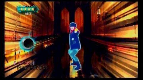 Just Dance 2 Japan - INDEPENDENT WOMAN - AI
