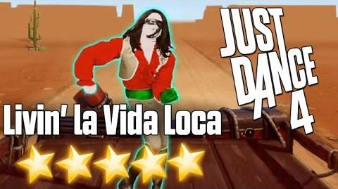 Just Dance 4 - Livin' La Vida Loca - 5 stars